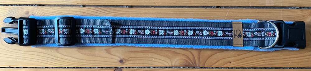 GB: graphit/Borte: 20mm_6/Fleece: hellblau