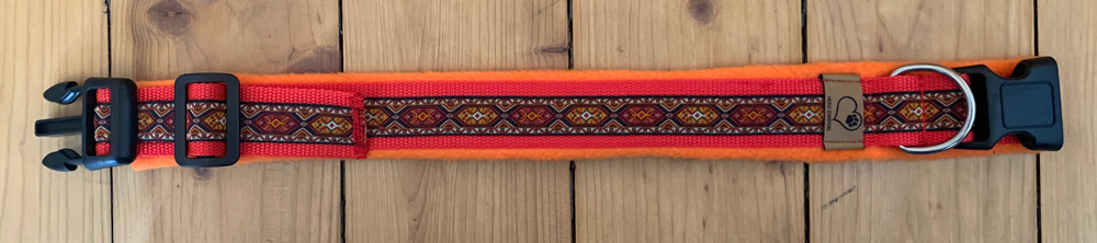 GB: rot/Borte: Nummer folgt (Orient orange)/Fleece: orange
